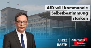 AfD will kommunale Selbstbestimmung stärken