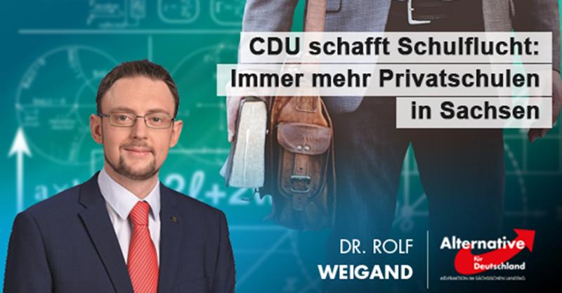 CDU schafft Schulflucht: Immer mehr Privatschulen in Sachsen