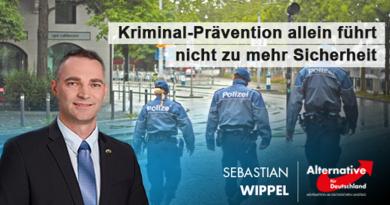 Kriminal-Prävention allein führt nicht zu mehr Sicherheit