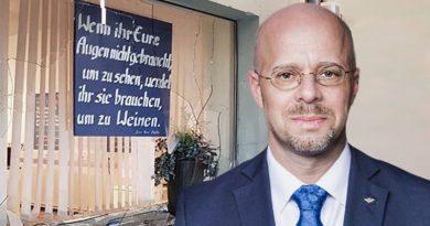 Erneuter Anschlag auf ein AfD-Bürgerbüro in Brandenburg