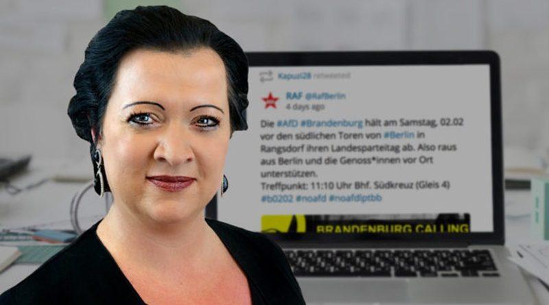 Nie wieder Deutschland: SPD und GRÜNE auf Seiten Linksextremer in Brandenburg