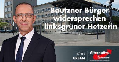 Bautzner Bürger widersprechen linksgrüner Hetzerin