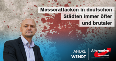 Messerattacken in deutschen Städten immer öfter und brutaler