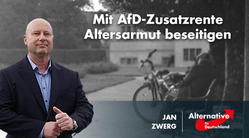 Mit AfD-Zusatzrente Altersarmut beseitigen