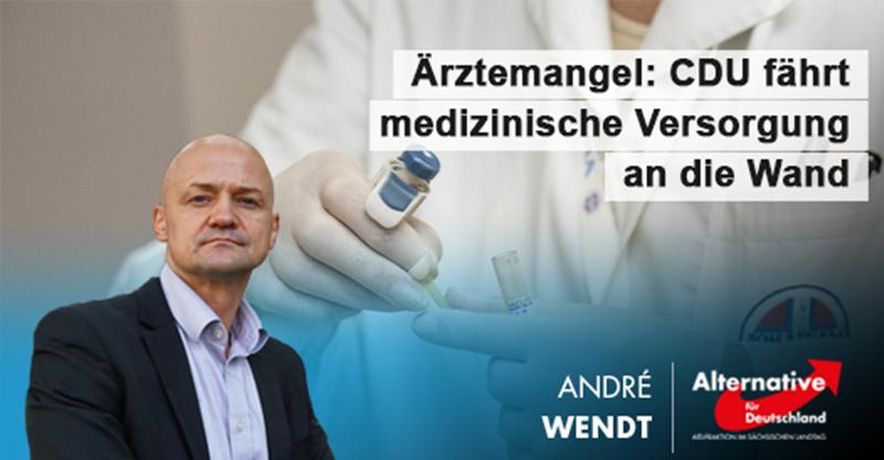 Ärztemangel: CDU fährt medizinische Versorgung an die Wand