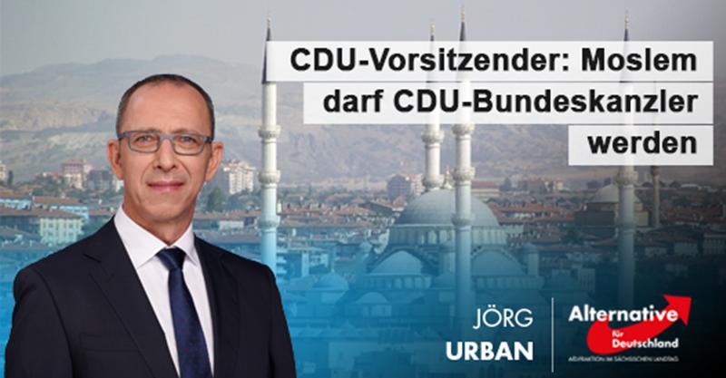 Moslem darf CDU-Kanzler werden