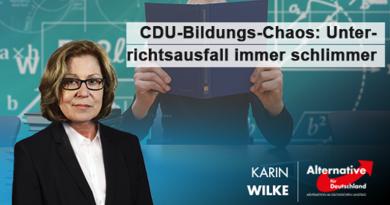 CDU-Bildungs-Chaos: Unterrichtsausfall immer schlimmer