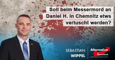 Soll etwas beim Messermord an Daniel H. in Chemnitz vertuscht werden?