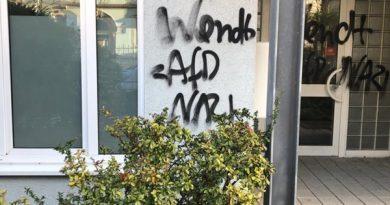 Erneut Attacke auf Haus von sächsischem AfD-Politiker