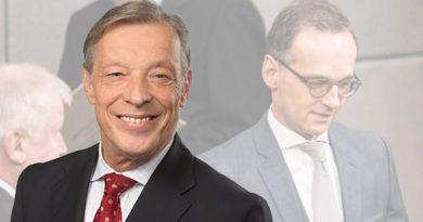 Jahresbilanz Minister Maas: Wie der erste Praktikant im Außenamt