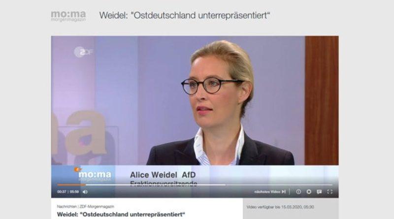 AfD-Fraktion beantragt Gleichstellung von Ostdeutschland bei Bundesbehörden