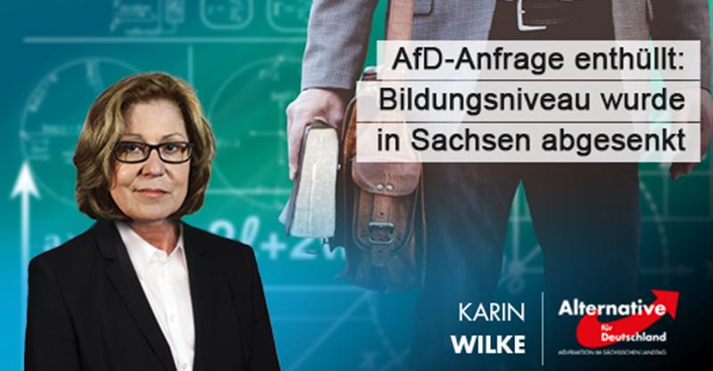 AfD-Anfrage enthüllt: Bildungsstandard wurde in Sachsen abgesenkt