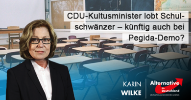 CDU-Kultusminister lobt Schulschwänzer – künftig auch bei Pegida-Demo?