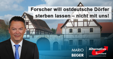 Forscher will ostdeutsche Dörfer sterben lassen – nicht mit uns!