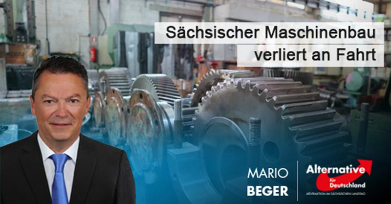 Sächsischer Maschinenbau verliert an Fahrt