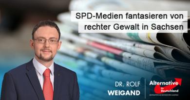 SPD-Medien fantasieren von rechter Gewalt in Sachsen