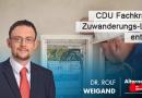 CDU Fachkräfte-Zuwanderungs-Lüge entlarvt