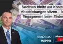 Sachsen bleibt auf Kosten für Abschiebungen sitzen – kaum Engagement bei Eintreibung