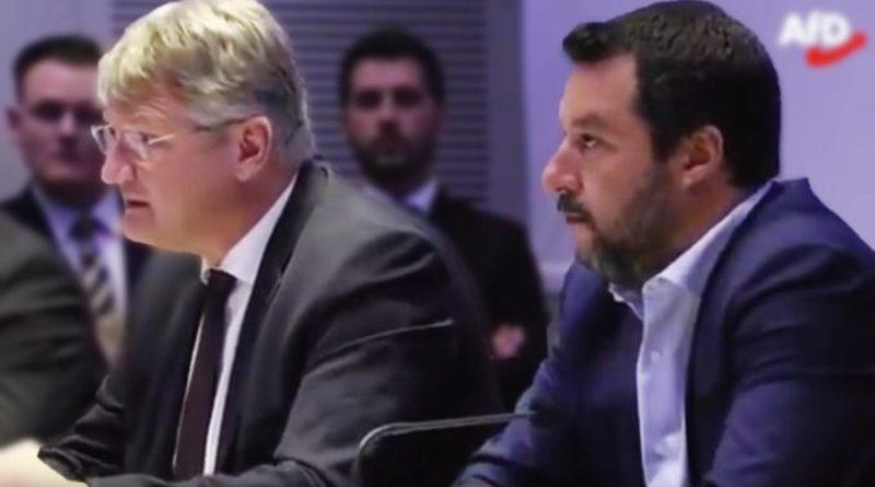 Matteo Salvini und Jörg Meuthen schmieden neue starke Allianz für Europa