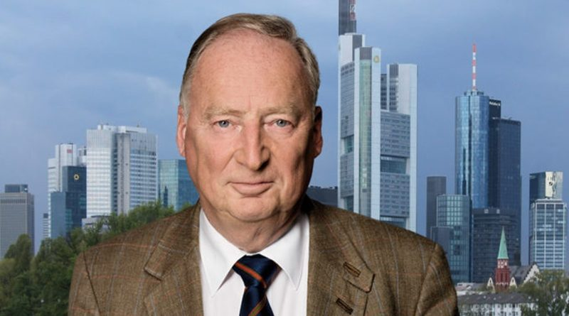 Dr. Alexander Gauland, AfD-Bundessprecher und Fraktionsvorsitzender der AfD im Bundestag, FotoAfD/Pixabay-740528