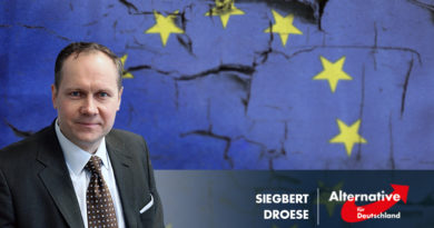 Droese: Die Europäische Kommission wird immer mehr zur Straf-Kommission