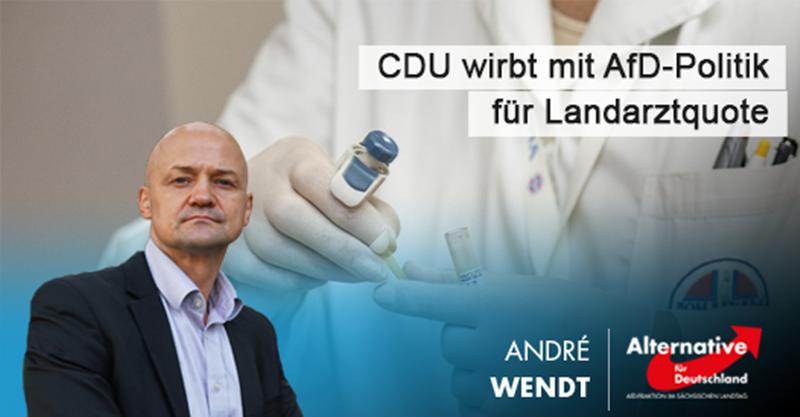 CDU wirbt mit AfD-Politik für Landarztquote