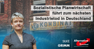 Sozialistische Planwirtschaft führt zum nächsten Industrietod in Deutschland