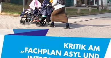 """Dresden - Kritik am Fachplan """"Asyl und Integration 2022"""""""
