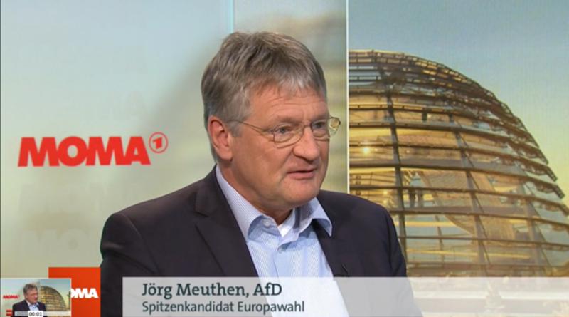 Meuthen zur EU-Wahl im ARD-Morgenmagazin am 17. Mai