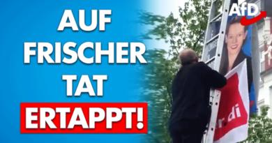 Ver.di lässt in Solingen EU-Plakat der AfD zuhängen – das wird teuer!