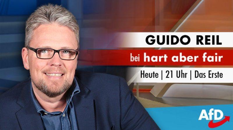 Guido Reil heute bei 'Hart aber Fair' ab 21 Uhr in ARD