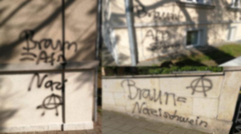 Erneute Attacke auf Dresdner Kandidaten!