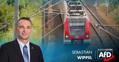 AfD fordert den Ausbau der Bahnstrecke Dresden- Görlitz- Breslau