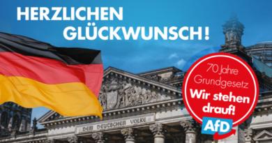 Erika Steinbach: Zum 70. Geburtstag des Grundgesetzes.