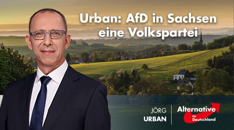 Urban: AfD in Sachsen eine Volkspartei