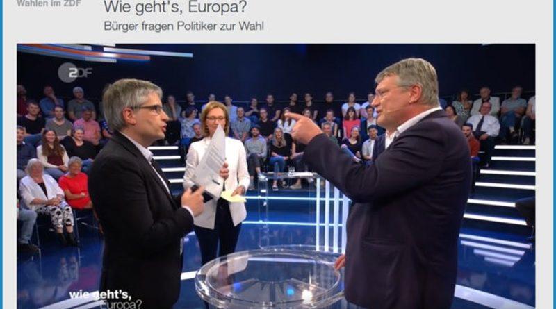 Wie geht's Europa? Meuthen in Höchstform