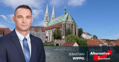 Sebastian Wippel, Görlitzer AfD-Landtagsabgeordnete, Bild: AfDgraf