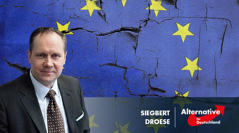 Droese: Manfred Weber auf Betteltour für seine Wahl