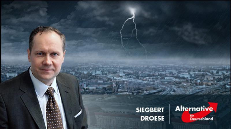 Droese: Schämen Sie sich, Herr Jung!
