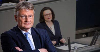 Andrea Nahles? Angela Merkel und gesamte Bundesregierung sollten zurücktreten!