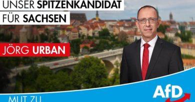 Jörg Urban Spitzenkandidat der AfD Sachsen
