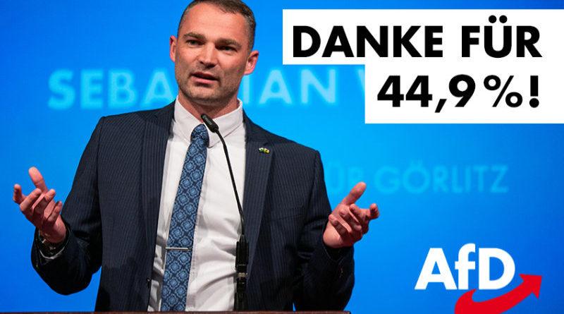 Danke Görlitz, Danke für 44,9 Prozent!
