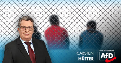 Carsten Hütter, sicherheitspolitischer Sprecher