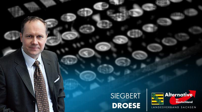 Droese: Rufmord von Hajo Funke gegen die AfD