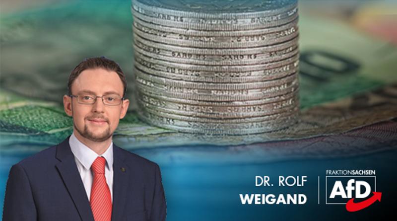 AfD will Steuergeld für die Bürger verwenden - SPD für Gehirnwäsche