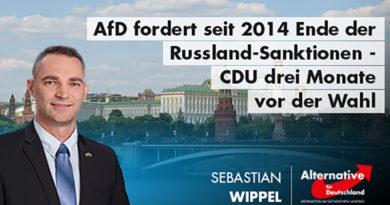 AfD fordert Ende der Russland-Sanktionen seit 2014 – CDU-Kretschmer drei Monate vor der Wahl!