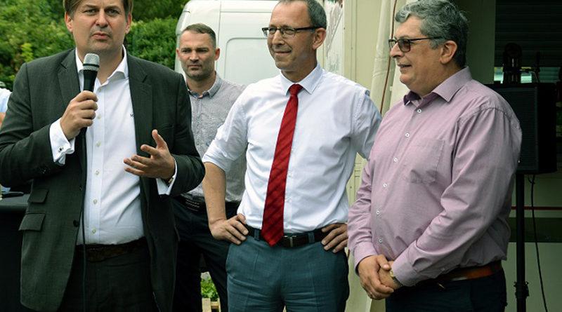 Krah jetzt auch in der Stahlstadt - EU-Parlamentarier der AfD hat jetzt ein Bürgerbüro in Riesa