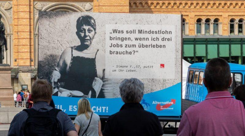 """""""Weil, es reicht!"""" AfD-Sozialkampagne in Niedersachsen sorgt für Furore"""