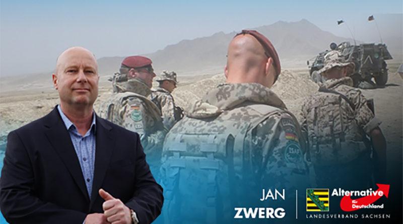 Grüne und CDU wollen deutsche Soldaten erneut im Ausland verheizen