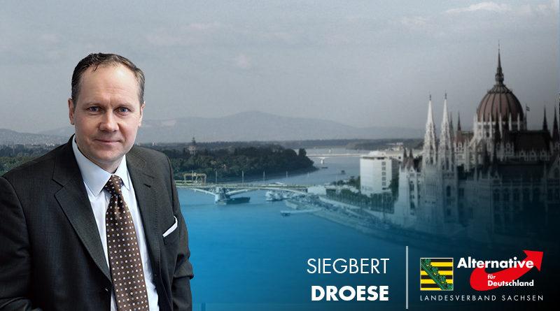 Siegbert Droese: Abschiedsgeschenk von Juncker an Orban